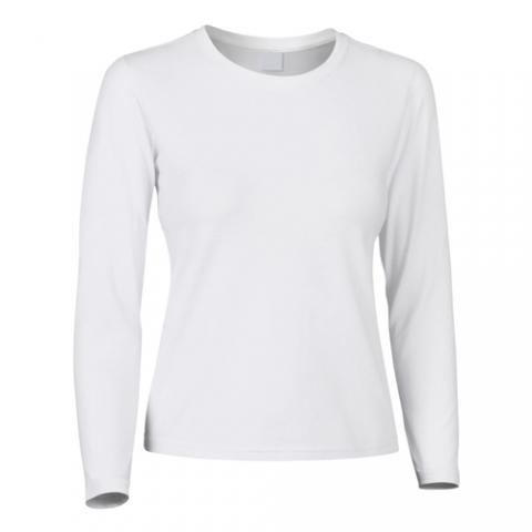 Camiseta elástica mujer