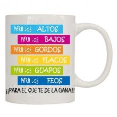 PARA LOS ALTOS, PARA LOS BAJOS...